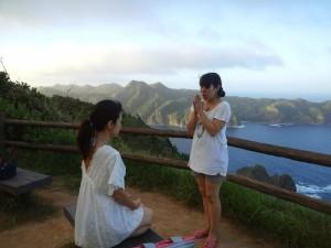 小笠原での瞑想とヒーリング