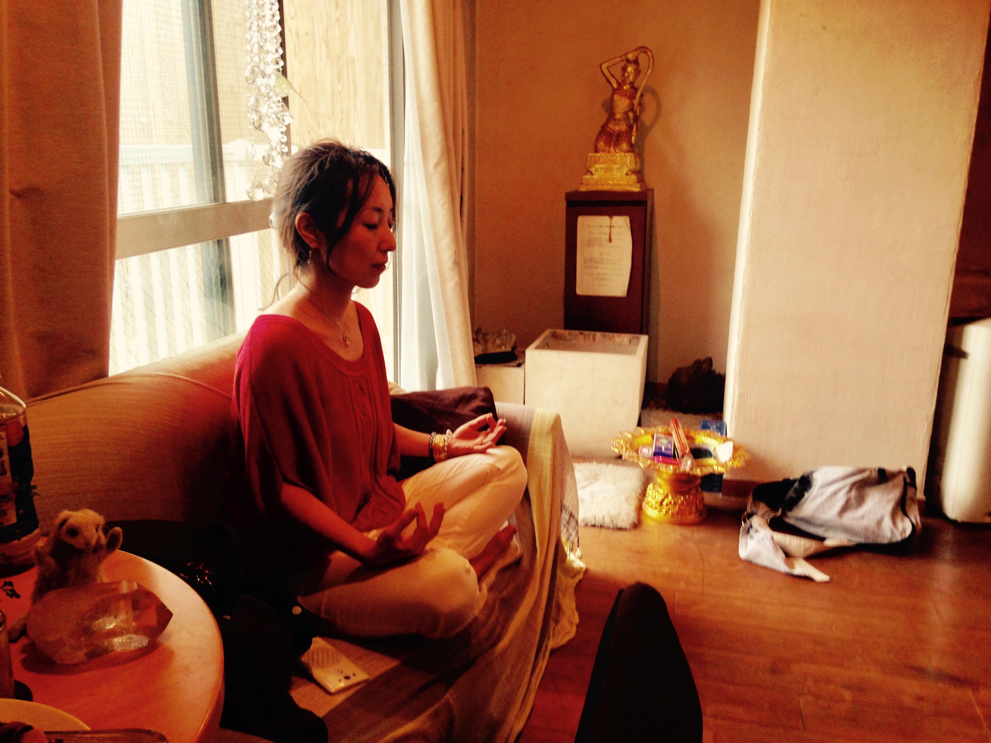 来月のPower of Shivaの日程と、TRINITY瞑想会について。